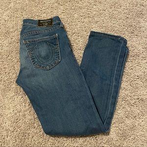 True religion Victoria jeans size 25